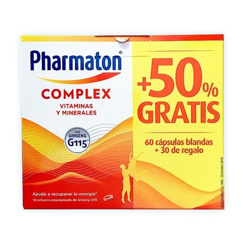 Pharmaton complex (90 capsulas pack promocional)