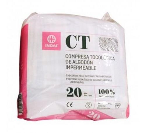 Compresas higienicas femeninas - maternity algodon (20 u)