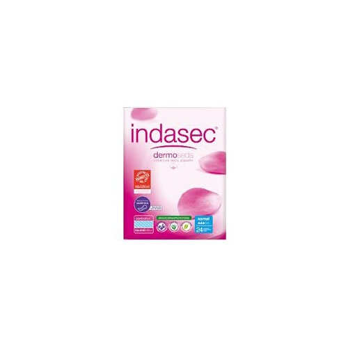 Indasec discreet normal compresa perdidas leves (24 absorb)