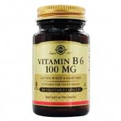 Solgar vitamina b6 100mg x 100 capsulas