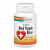 Solaray red yeast rice arroz rojo x 45 capulas