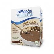 Bimanan sustitutive crema avena cacao