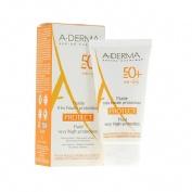 A-derma protect fluido invisible spf 50+ muy alta proteccion (40 ml)