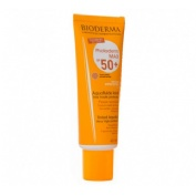 Photoderm max spf 50+ aquafluido - bioderma (40 ml dorado)
