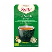 Yogi tea verde energia x 17 bolsas
