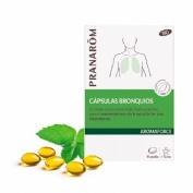 Pranarom aromaforce capsulas bronquios 30 caps