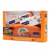 Vitis kids gel dentifrico + cepillo + gadget (50 ml)