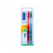 Cepillo dental adulto - vitis (suave duplo)