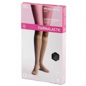 Media corta (a-d) comp normal - farmalastic (negra t- med)
