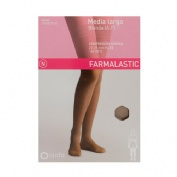 Media larga (a-f) comp normal - farmalastic blonda (camel t- med)