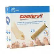 Tubo protector dedos recubrimiento interior gel - comforgel (tejido mesh 1.5 cm diametro 2 u)