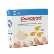 Separadedos - comforsil silicona (extrafino t- peq 3 u)