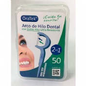 Arco de hilo dental de doble hilo (50 u)