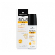 Heliocare 360º spf 50+ color gel oil-free - protector solar (beige 50 ml)