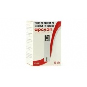 Tiras reactivas glucemia - aposan (10 u)