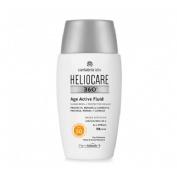 Heliocare 360º age active fluid protector solar protege repa (50 ml)