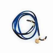 Cordon gafas flat azul/negro