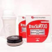 Forte pharma xtraslim 700 DUPLO+REGALO coctelera + 50ml anticelulitico gel frio