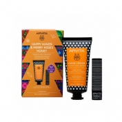 Apivita pack hand cream honey+labial