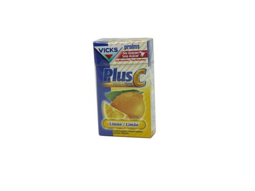 Caramelos praims sin azucar (limon plus 40 g)