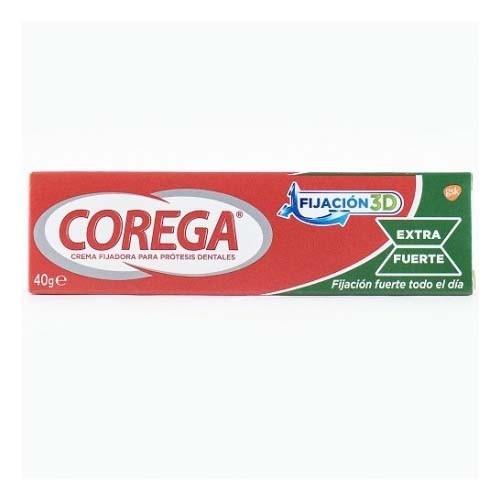 Corega crema extra fuerte - adhesivo protesis dental (40 ml)