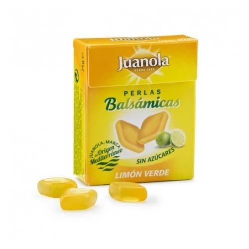 Juanola perlas limon verde (25 g)