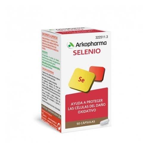 Arkopharma selenio (50 capsulas)