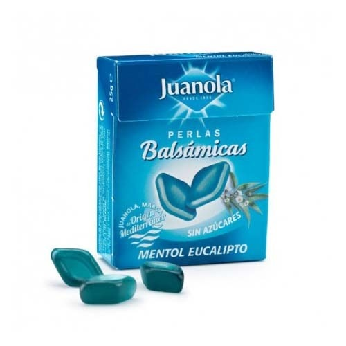 Juanola perlas mentol eucalipto (25 g)
