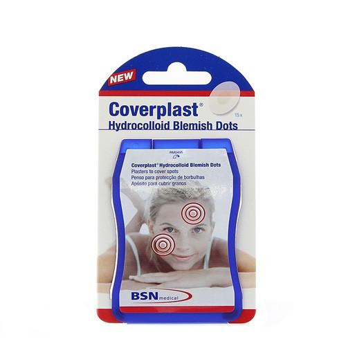 Coverplast hidrocoloide - aposito (12 mm diam 15 u)
