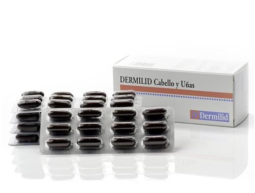 Dermilid cabello y uñas (60 capsulas)