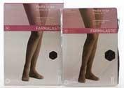 Media larga (a-f) comp normal - farmalastic blonda (negra t- reina)