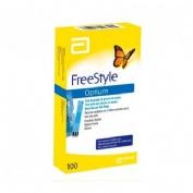 Tiras reactivas glucemia - freestyle optium (100 u)
