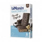 Bimanan bekomplett snack barritas (chocolate crujiente 280 g 8 barritas x 35 g)